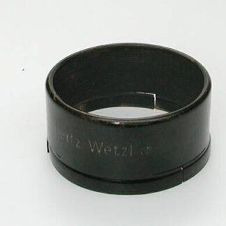 Metalen zonnekap voor Elmar 3,5/50mm middelste periode
