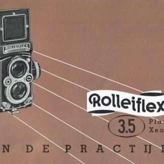 rolleiflex 3,5 gebruiksaanwijzing nederlands kopen