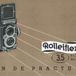 rolleiflex 3.5 gebruiksaanwijzing kopen