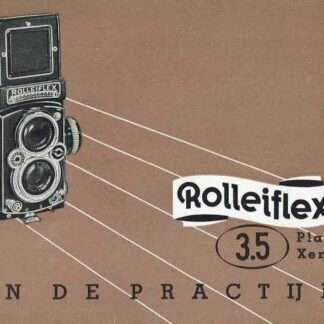 rolleiflex 3,5 gebruiksaanwijzig