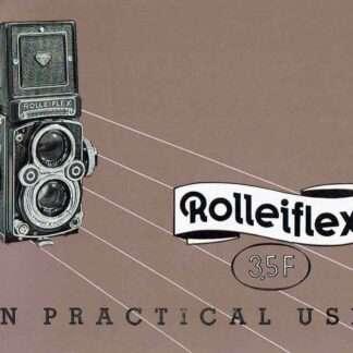 engelse rolleiflex 3.5F handleiding kopen