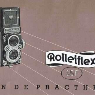 rolleiflex 3,5F gebruiksaanwijzing kopen
